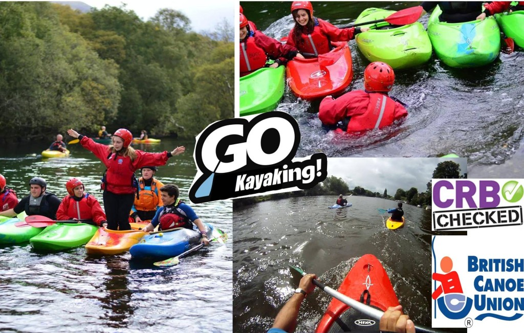 Kayak lessons River Dee chester one star 2 star BCU AWARDS