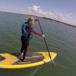 SUP ANGLESEY Lessons guided trips four mile brige inland sea
